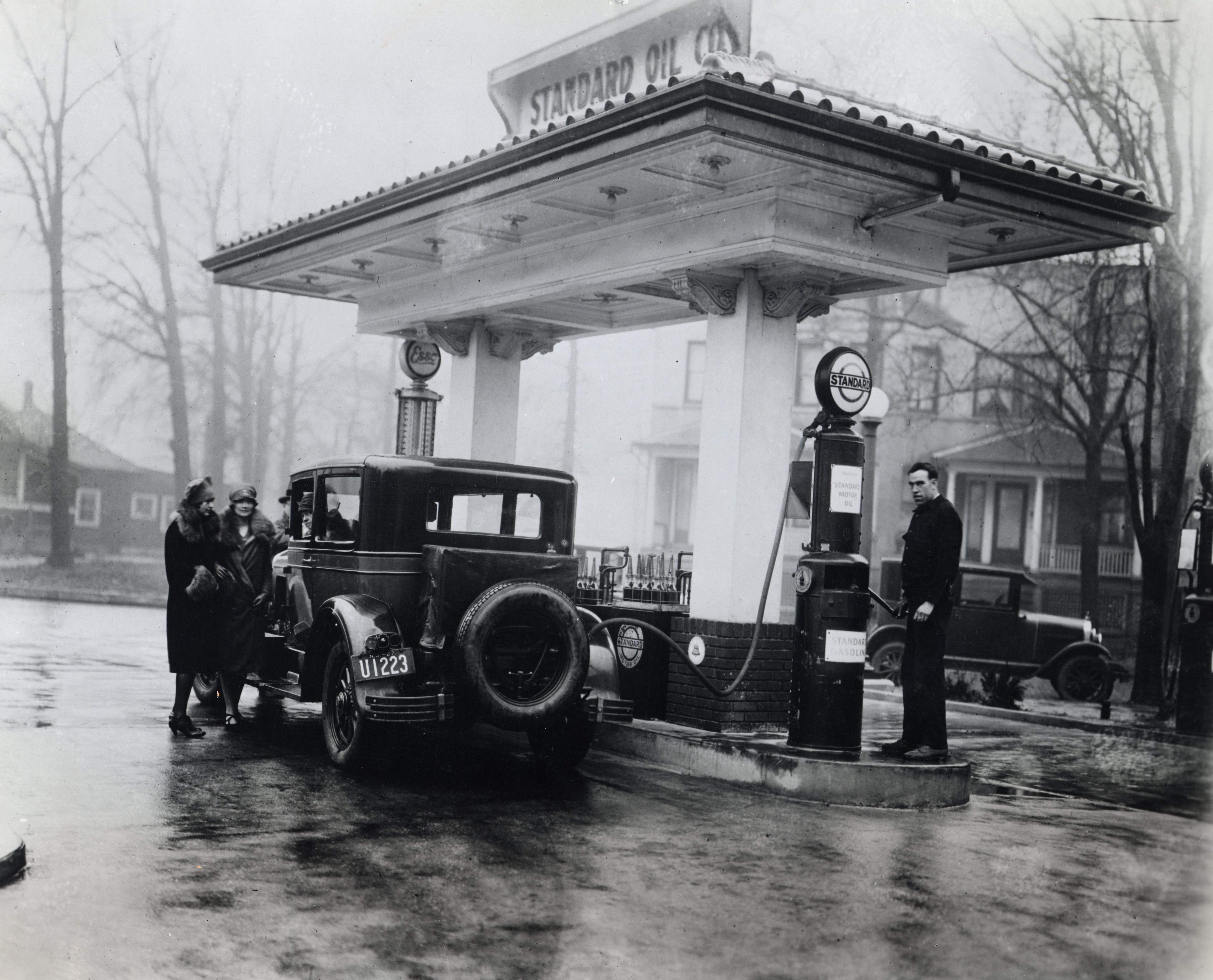 From hand pumps to cell phones:  A history of the American gas station