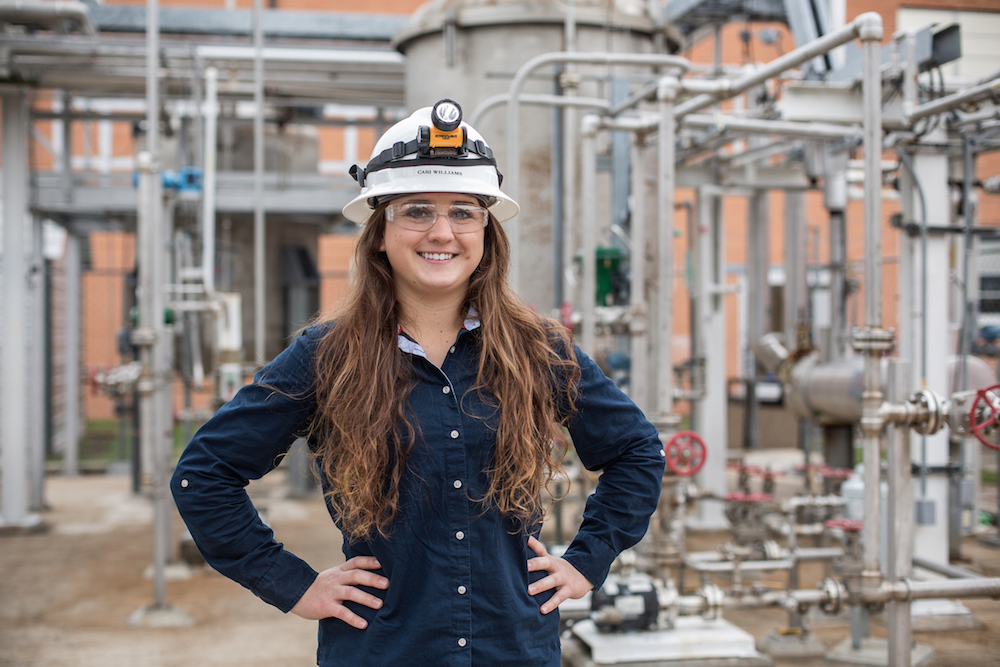 Cari Williams is a student at Lee College in the ExxonMobil Process Technology Program.